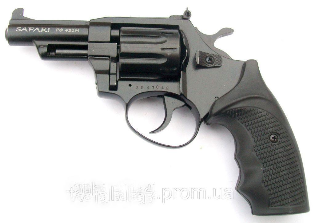 Револьвер под патрон Флобера Сафари 431 М черный