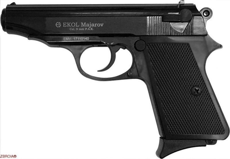 Стартовый пистолет ekol majarov (чёрный)