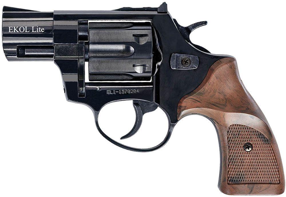 Револьвер стартовый Ekol Lite Matte Black (Pocket)