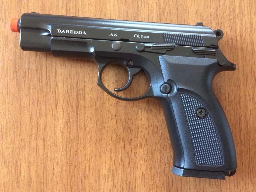 Стартовый пистолет Baredda s 56 (A-6) blak