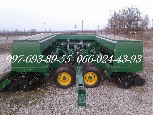 Зерновые  сеялки John Deere 455