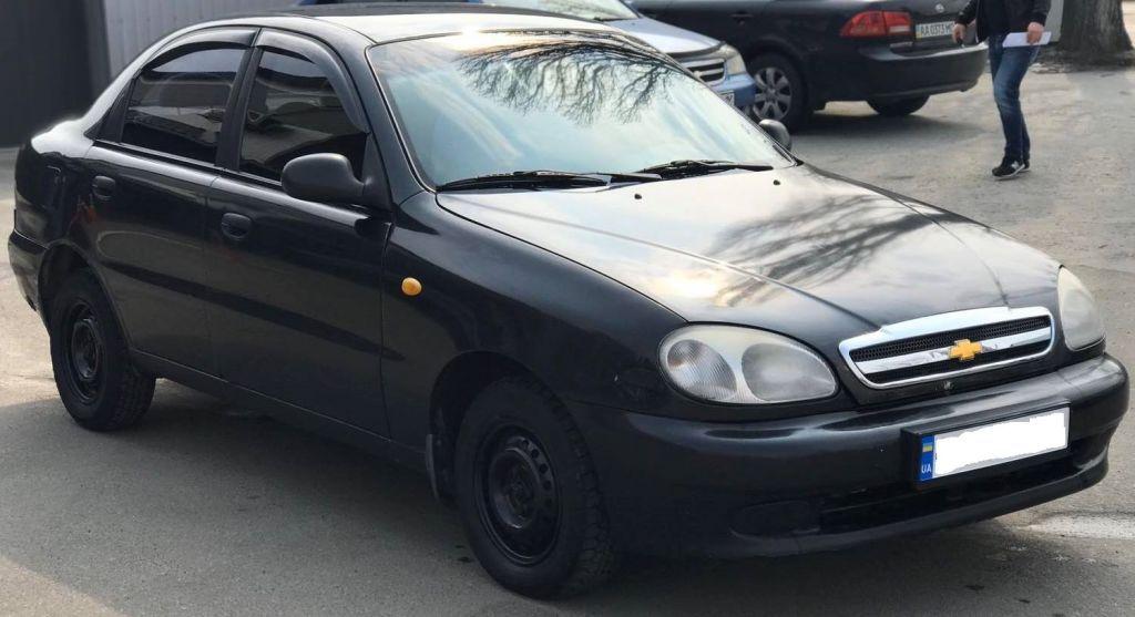 Аренда авто без залога Деу Ланос Киев под выкуп недорого