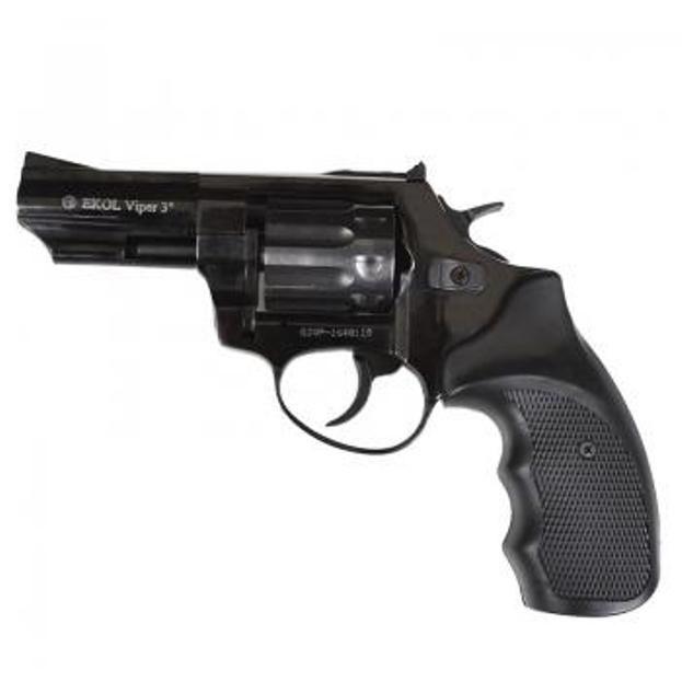 Револьвер под патрон флобера Ekol viper 3  ( черный)