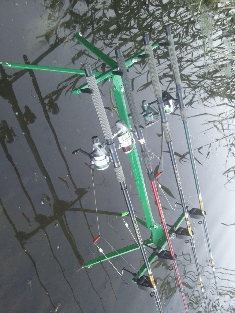 Подставка Род Под на 4 удилища Rod Pod, подарок рыбаку